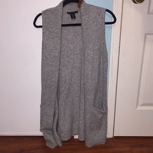 Wool like vest